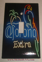 Corona Extra Beer neon Light Switch Outlet Wall Cover Plate Home decor