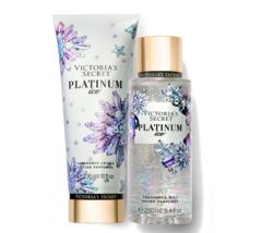 Victoria's Secret Platinum Ice Fragrance Lotion + Fragrance Mist Duo Set - $39.95