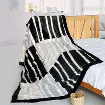 Onitiva - [Fashion Stripes] Stylish Patchwork Throw Blanket (61 by 86.6 ... - $103.00 CAD