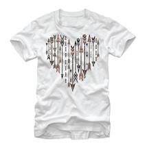 Lost Gods Arrow Heart Mens Graphic T Shirt - £8.81 GBP