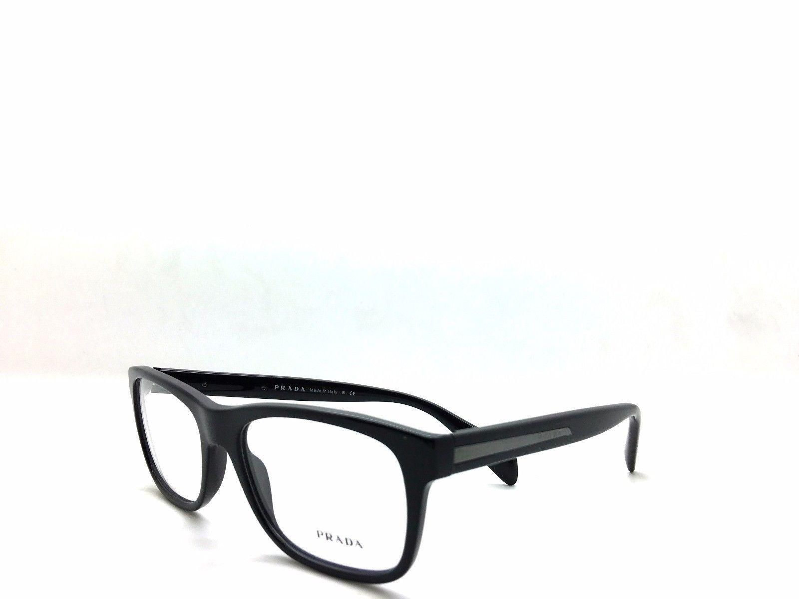 81032687c39 PRADA Shiny Gloss Black Eyeglasses VPR 19P and similar items. 57