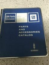 1960 1967 1969 70 1975 Pontiac GTO Firebird Grand Prix Parts Catalog Man... - $237.55