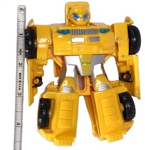 Bumblebee Transformer Yellow and Black Hasbro Tomy Car Robot 4.5 inches ... - $21.78