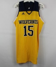 New Adidas Mens Large Michigan Wolverines Player Issue Sample Basketball... - $98.95