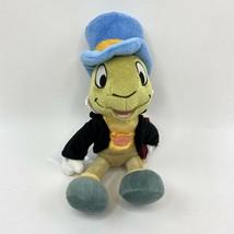 Jiminy Cricket Disney Store Pinocchio Small Bean Bag Plush Stuffed Anima... - $11.87