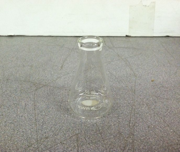 VWR Cat  No  89000-358 50mL Erlenmeyer Flask and similar items