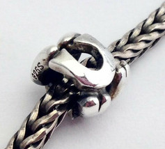 Authentic Trollbeads Sterling Silver Letter U Charm 11144u, New - $22.44