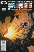 SuperPatriot: America?s Fighting Force #4 FN; Image   save on shipping -... - $1.99
