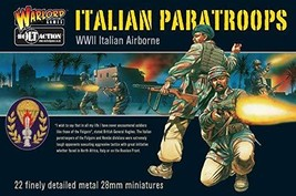 Warlord Games, Italian Paratroops - WWII Italian Paratroops Boxed Set, 28mm - $57.54