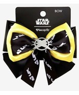 Star Wars Disney Lando Calrissian Satin & Faux Leather Cosplay Hair Bow - $11.38