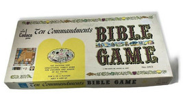 Cadaco Ten 10 Commandments Bible Board Game No 263 In Original Box Vinta... - $38.50