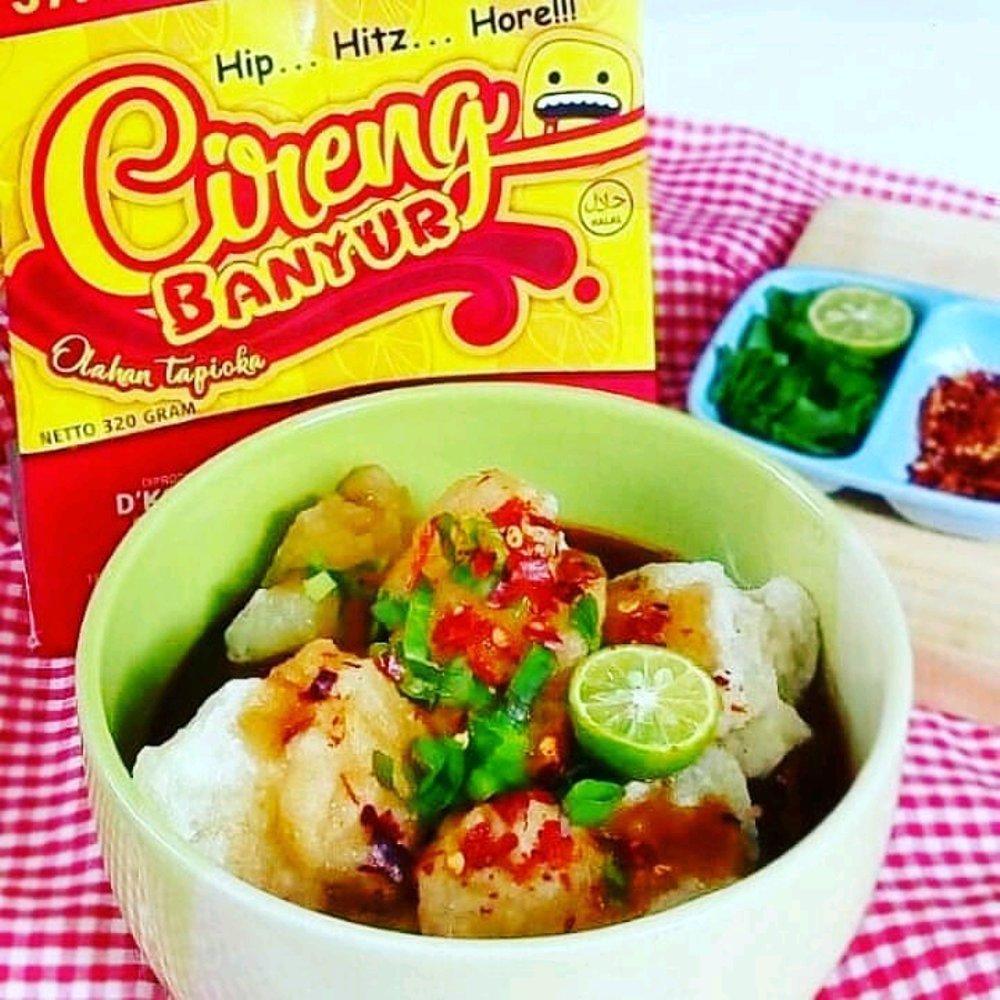 Original Cireng Banyur Spicy Lokal Food Lover Taste Hot