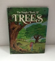 The Wonder Book Of Trees Vtg 1974 Childrens Wonder Book - $9.89