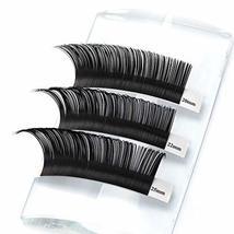 20-25mm Long Eyelashes Individual Lash Extensions D curl Thickness 0.15 Eyelash  image 4