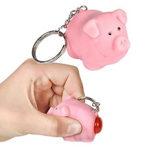 Ned the Naughty Pig Keychain [Toy] by Lofttus - $4.33