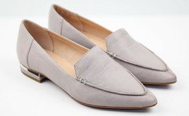Womens Franco Sarto Starland Ballet Flat - Steel Leather, Size 7 M US - $99.99