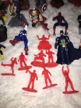 Mixed Super Hero Action Figure Lot Of 36 Marvel Ninjas Turtles Power Ranger WWE image 9