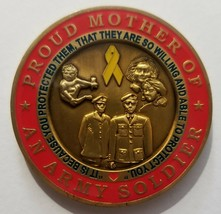 US Army Proud Mother of an Army Soldier Challenge Coin - $49.49