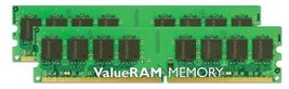 Kingston Value Ram 4GB 667MHz DDR2 Non-ECC CL5 Dimm (Kit Of 2) Desktop Memory - $37.61