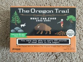 The Oregon Trail Hunt For Food Card Game - Family Game Brand New!!! - $11.40