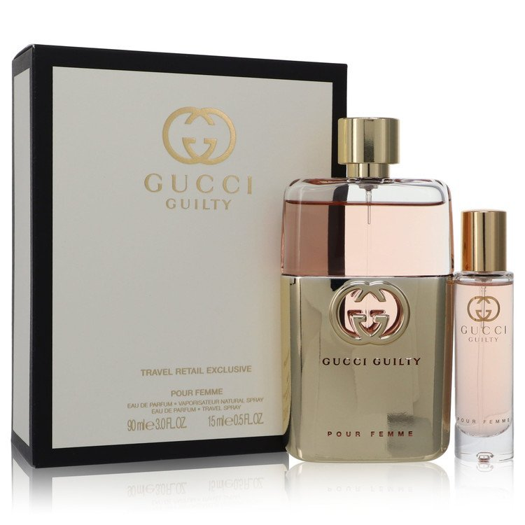 Aaaaagucci guilty pour femme perfume 2 pcs gift set