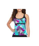 Zeroxposur Leaf Swimsuit Tankini Size S, XXL Msrp $49 Liquorice New - $24.99