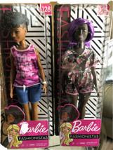 Barbie Fashionistas Dolls #125 & #128 Gorgeous Purple Hair NEW SEALED - $19.35
