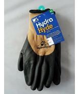 Nwt Wells Lamont Hydra Hyde Frío Guantes Revestidos Resistente Agua Polar - $31.25