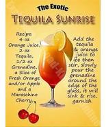 Tequila Sunrise Cocktail, Ricetta, Pub Hotel , Vino BAR, 51 Misura Media... - $10.86