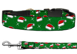Santa Hat Christmas Nylon Cat and Dog Collars and Leash Combo - $19.01+