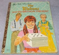 Little Golden Book The Waltons and the Birthday Gift no 134 1975 Godfrey - $5.95
