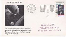 NIKE-CAJUN FALLING SPHERE WALLOPS ISLAND VA JANUARY 25 1966  - $3.98