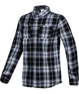 Adidas Men's Check Shirt Long Sleeve Neo Label Shirts - Black / White - ... - £24.18 GBP