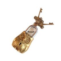 Antique Owl Door Lock And Keys - $59.99