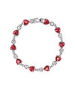 Dazzle heart bracelet thumbtall