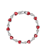 Avon Dazzling Heart Tennis Bracelet