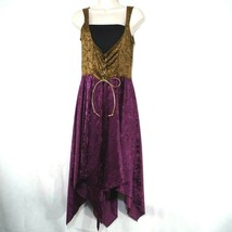 California Costume Collect. Tavern Lady Costume Over Dress Women Size M Purple - $14.84