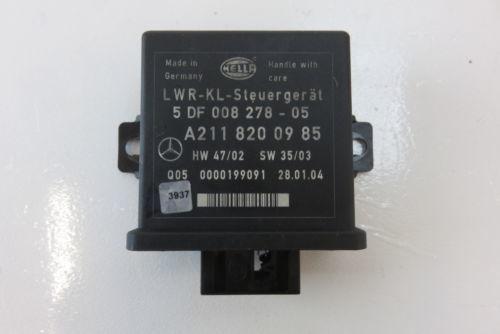 Mercedes W211 E320 E500 module xenon light ballast 5DV00829000