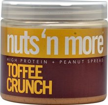 Nuts N More High Protein Peanut Spread Toffee C... - $43.55