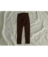Maison Jules Women's No Pockets Pull-On Rich Truffle Brown Leggings Size... - $23.17