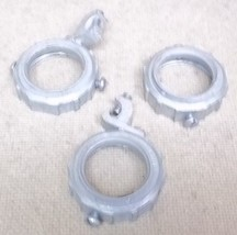 Compression Rings for 1 1/4in Conduit Lot of 3 - $8.88