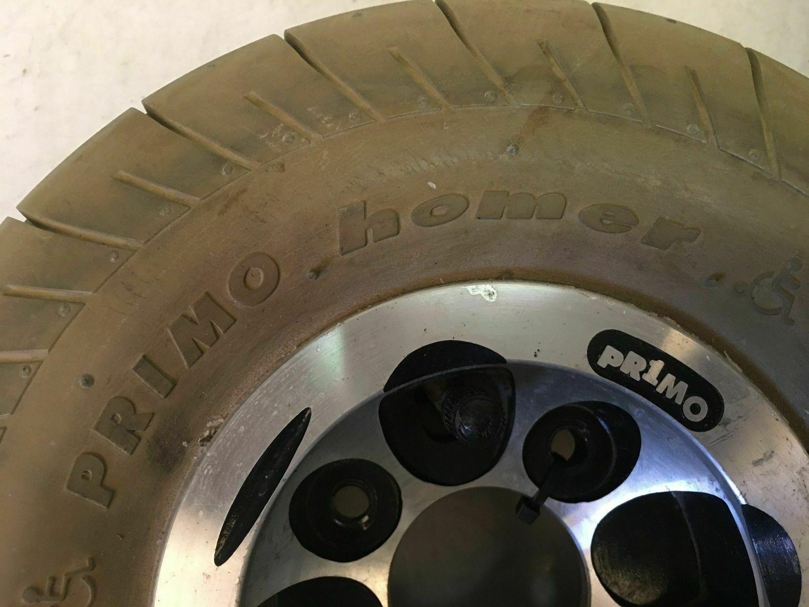 Rascal 250 PC - Pr1mo Homer Drive Wheels - For Power Wheelchairs image 2