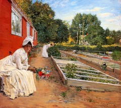 The Nursery, 1890 - 24x32 inch Canvas Wall Art Home Decor - $51.99
