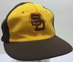 VTG Sports Specialties San Diego Padres Snapback Hat MLB SD SIZE-A-JUST ... - $252.44
