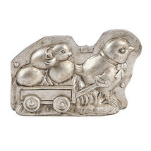 Darice Vintage Chocolate Mold Decor: Chicken with Baby Chick, 6 x 4 inch... - $9.99
