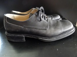 Kenneth Cole New York Mens Oxford US 8.5 M Black Leather Upper Rubber So... - $14.85