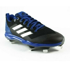 Adidas PowerAlley Black Blue Baseball Cleats B39187 Mens Size 12 Freak X Carbon - $14.95