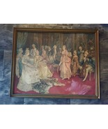 Ettore Simonetta Painting Concert At The Time Of Mozart - $495.00
