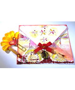 Handmade Envelope W/2 Clips, For Decor, Storage, Organization, Dragonfly... - $12.75