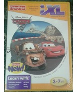 Disney Pixar Cars 2 iXL Learning System Game Cartridge NEW - $14.00
